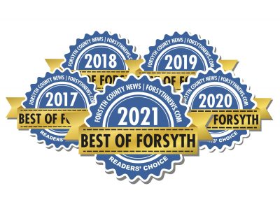 Best of Forsyth Electrical Contractor Award logos